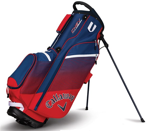 CALLAWAY CHEV STAND BAG (VARIOUS COLOURS) 5 WAY DIVIDER