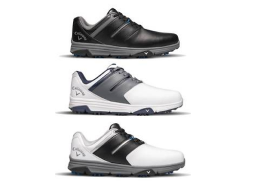 CALLAWAY MISSION MENS WATERPROOF SPIKELESS GOLF SHOES (VARIOUS SIZES)