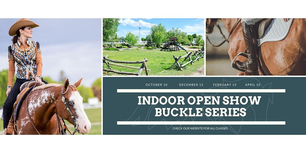 Indoor Winter Open Buckle Series - October Show