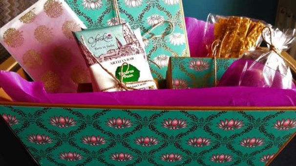 Luxury Rakhi Gourmet Chocolate Gift Hamper