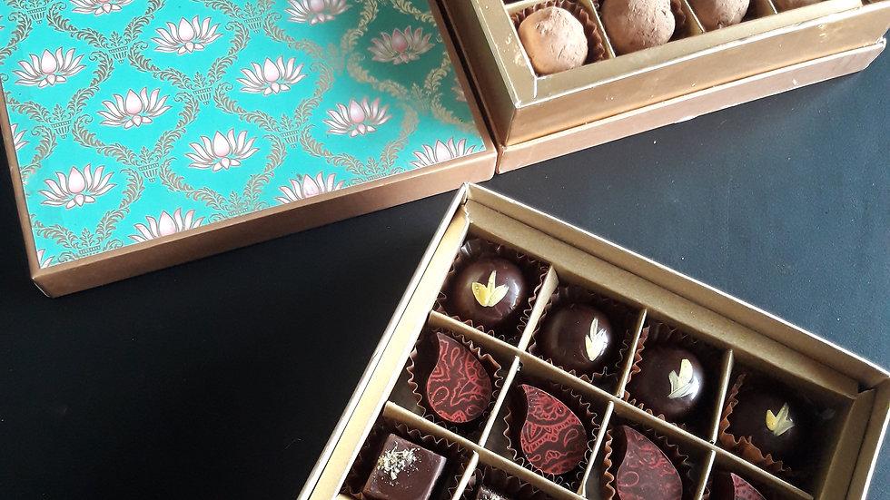 Sixteen piece Bon Bon Lux Box