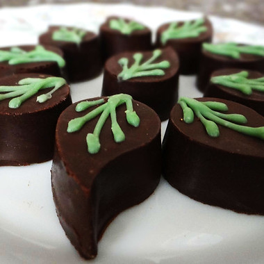 Kaffir Lime Chockriti Bon Bons