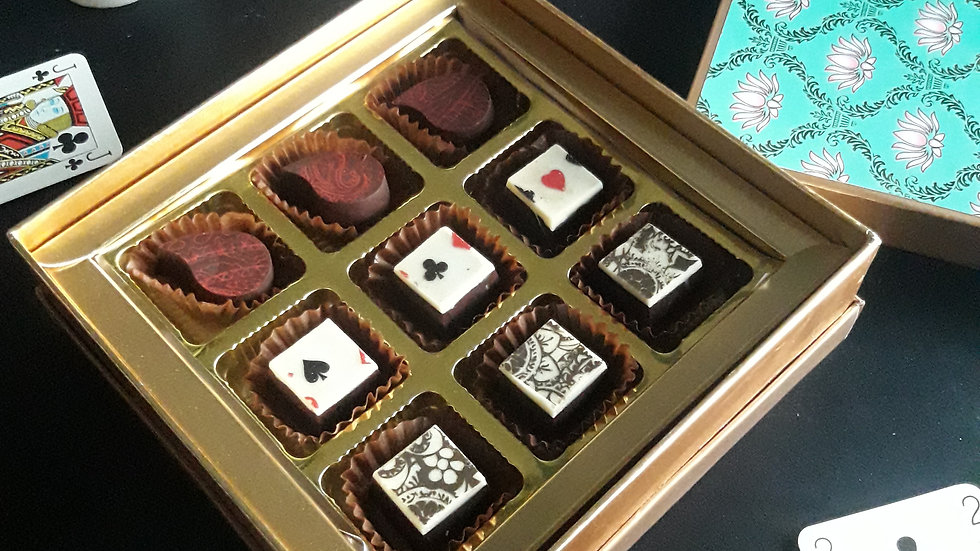 Nine piece Bon Bon Lux Box