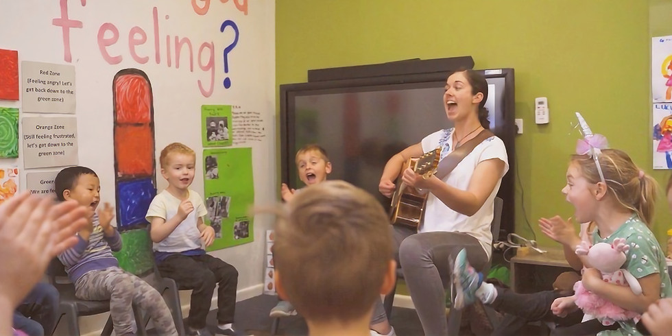 Music with Friends (2 - 5 years)
