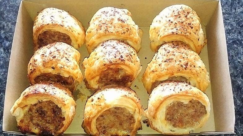 Chef Kel Catering Perth Finger Food Catering Perth Caterer Gourmet Sausage Rolls.jpg