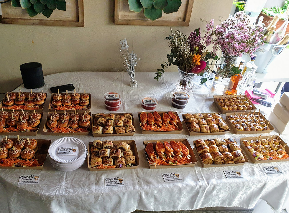Chef Kel Party Catering perth Party Food Caterer Perth Affordable party catering chef kel