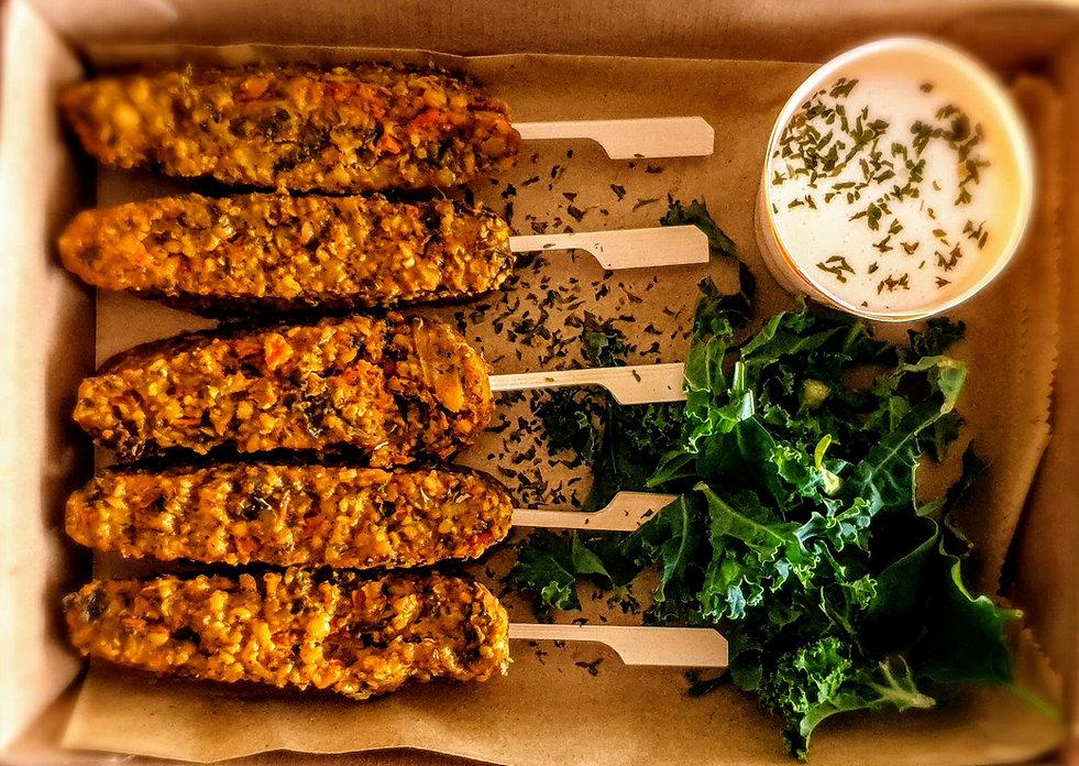 Vegan Skewers  Chef Kel Vegan Catering P