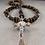 Thumbnail: Yeshua - Jesus (Tiger Eye Rosary)
