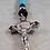 Thumbnail: Agnus Dei - Lamb of God (Turquoise Stone Beads)