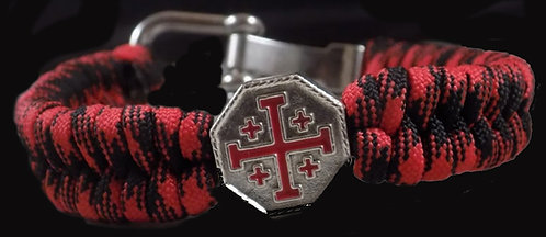 Crusader Cross Bracelet (Adjustable)