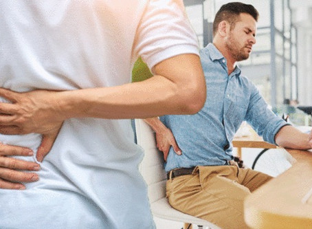 Back pain: Eight common posture mistakes - here's how to fix them
