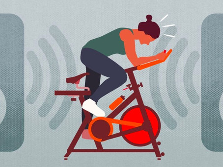 Indoor cycling can be great for your heart — and toxic for your ears
