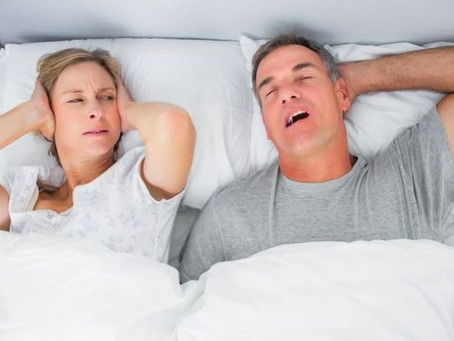 Seven tips to help you sleep next to a loud snorer
