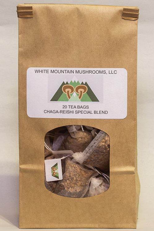 Chaga/Reishi Special Blend Tea Bags