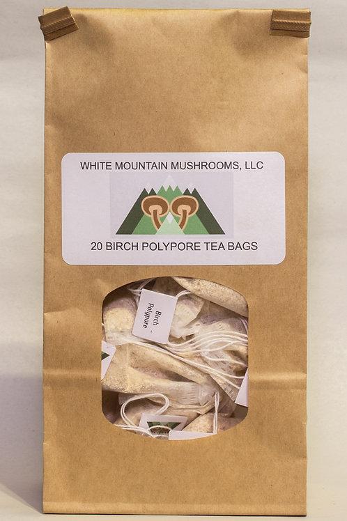 Birch Polypore Tea Bags