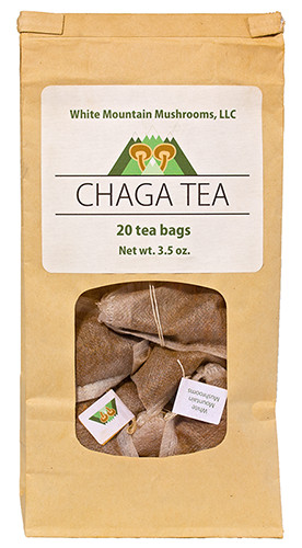 20 Chaga Tea Bags Individually Handcrafted With Care Not Outsourced Enjoy This 100 Natural From The Western Maine Mountains