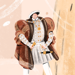Hans Holbein's Henry VIII