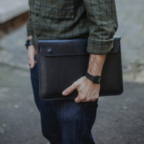 Notebook Tasche aus Leder 13,3 Zoll