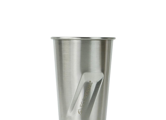 Ecovessel THE STOUT - STAINLESS STEEL PINT GLASS - 16OZ