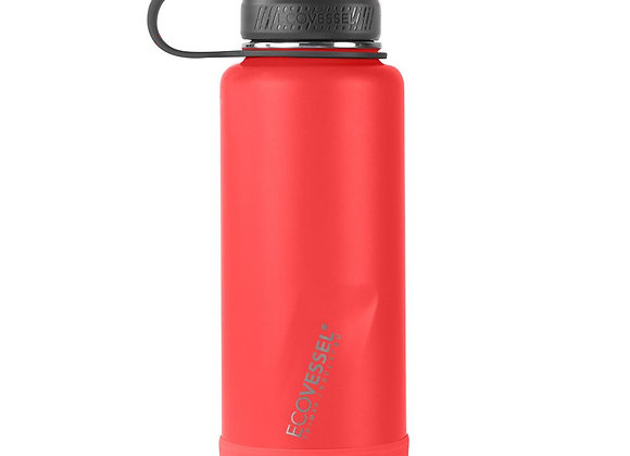 Ecovessel THE BOULDER - INSULATED WATER BOTTLE W/ STRAINER - 32 OZ