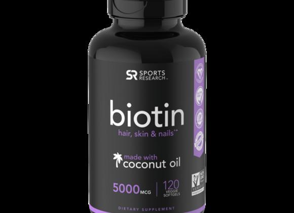 Sweat Sweat Biotin
