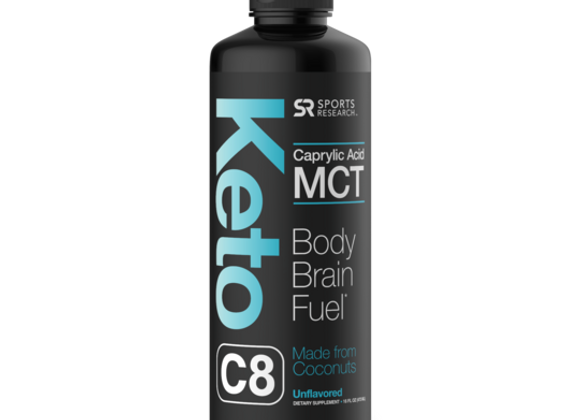 Sweet Sweat Keto C8 MCT Oil