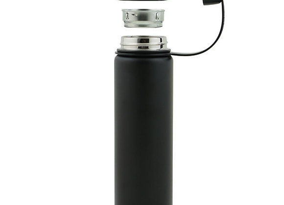 Ecovessel THE BOULDER - INSULATED STAINLESS STEEL WATER BOTTLE W/ STRAINER - 24O
