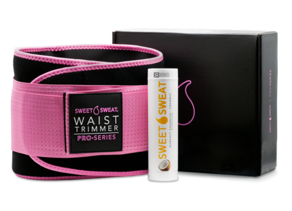 Sweet Sweat Pro Series Waist Trimmer Bundle