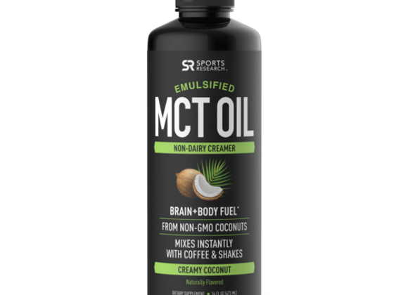 Sweet Sweat Emulsified MCT Oil
