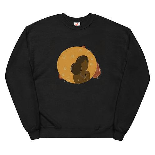 Golden unisex sweatshirt