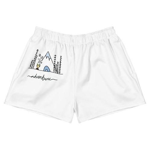 Adventure- Women's Athletic Short Shorts