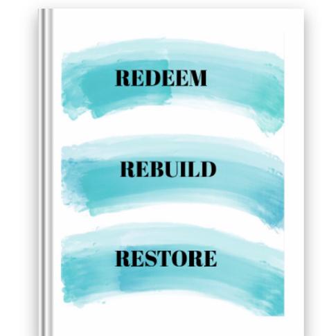 Redeem,Rebuild, Restore full official pdf Journal