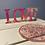 Thumbnail: LOVE - Home decor with coaster
