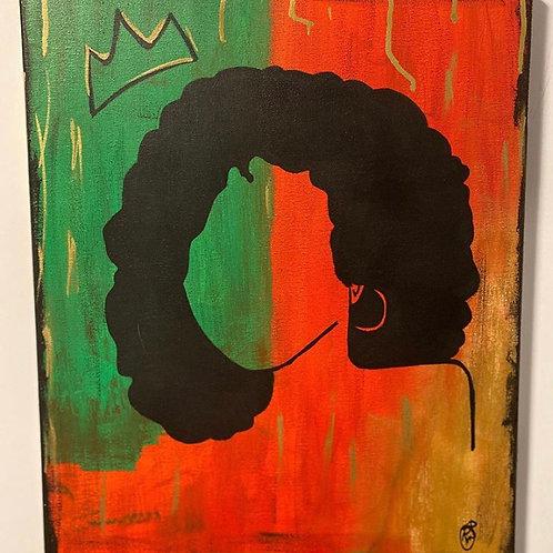 Beauty queen original painting