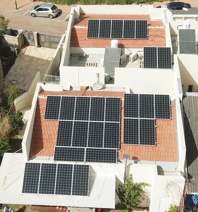 מערכת סולארית בנס ציונה