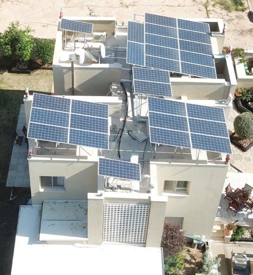 מערכת סולארית בנגבה