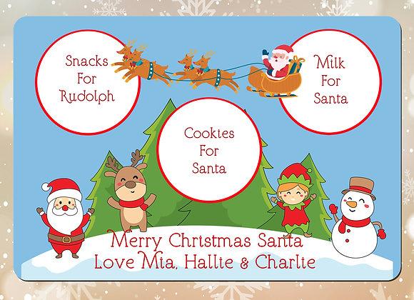 Treats for Santa placemats