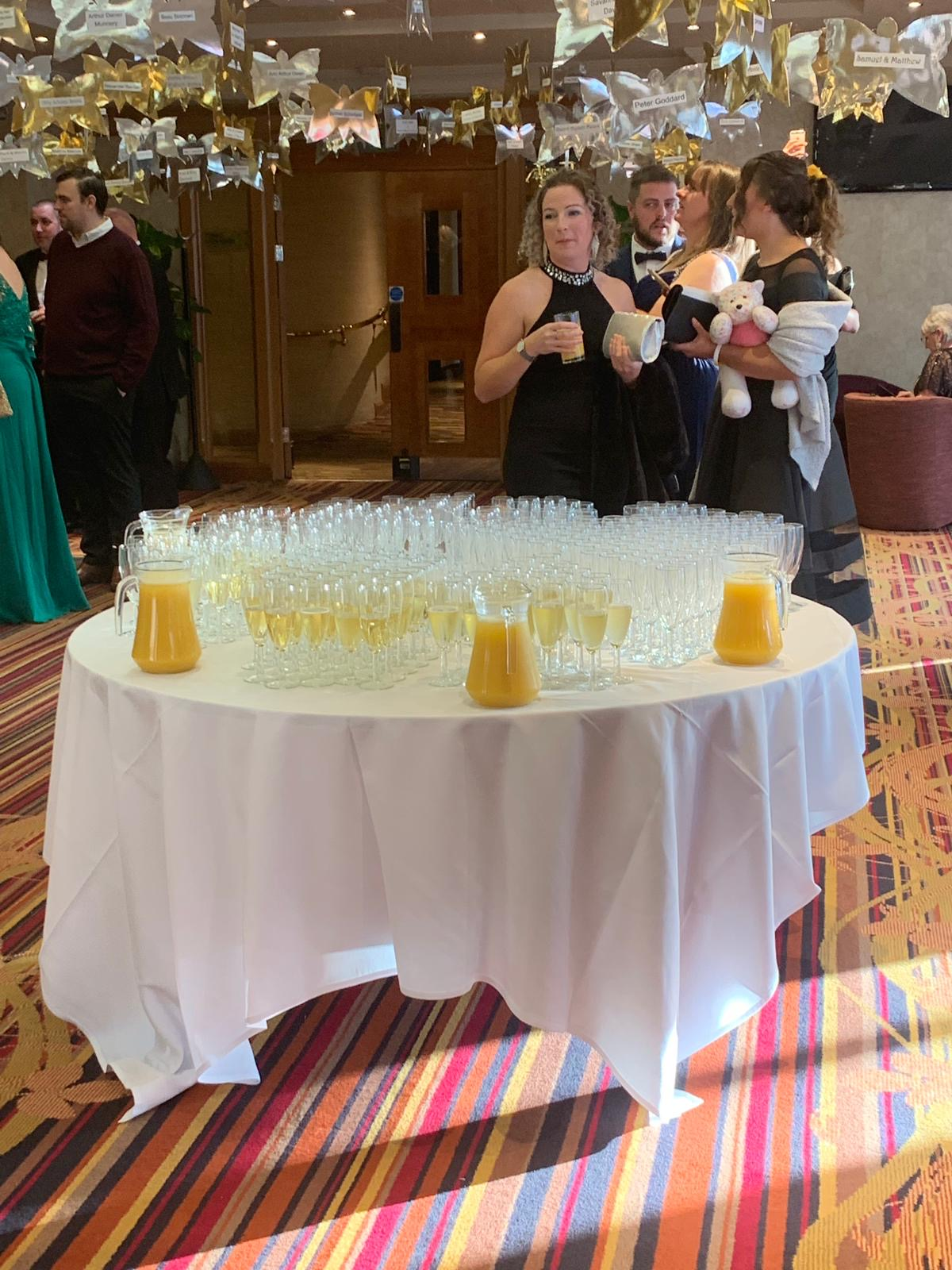 Reception drinks