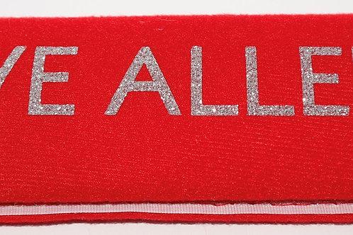 Customisable car seatbelt cover