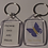 Thumbnail: Isla's Journey Butterfly Keyring with personalisation