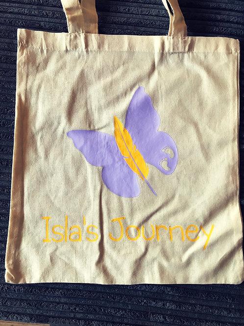 Isla's Journey shopping tote bag