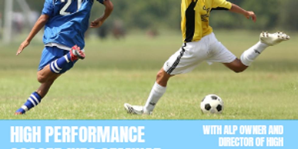 High Performance Soccer Info Seminar