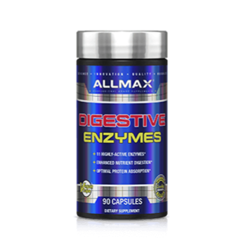Allmax Digestive Enzymes - 90 capsules