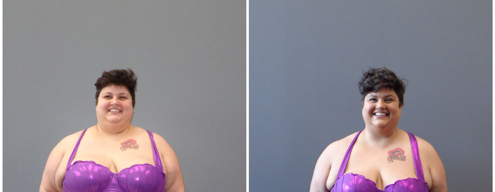 Katie Wilson - 2019 1st Place Winner - before and after