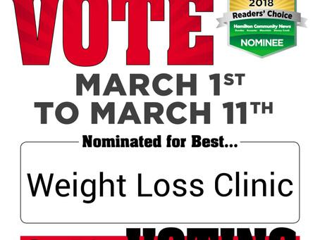 Hamilton News Reader's Choice Awards