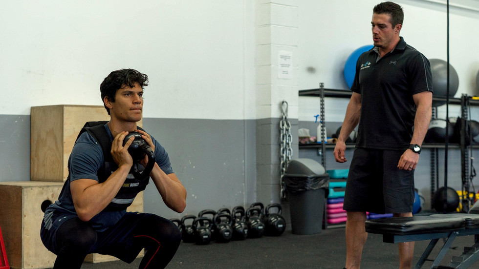 Athlet - Johnny Kovacevic, Coach - Adam