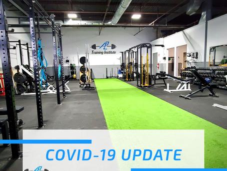Covid-19 Lockdown Update