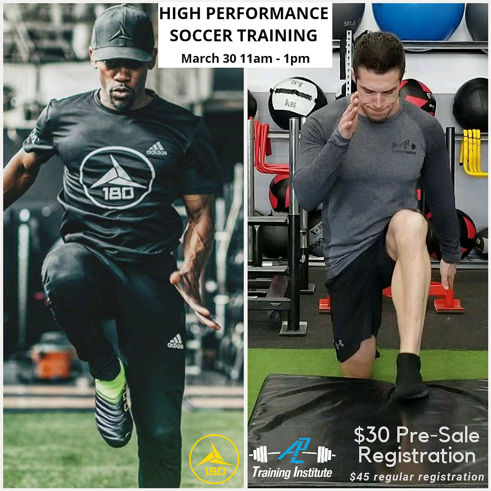 High Performance Soccer Training with Ahj Robers and Adam Lloyd