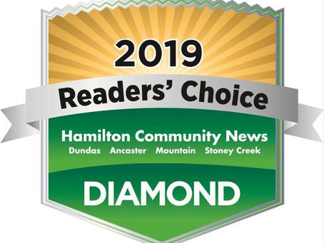 2019 Hamilton News Reader's Choice Awards - Winners Announced!!