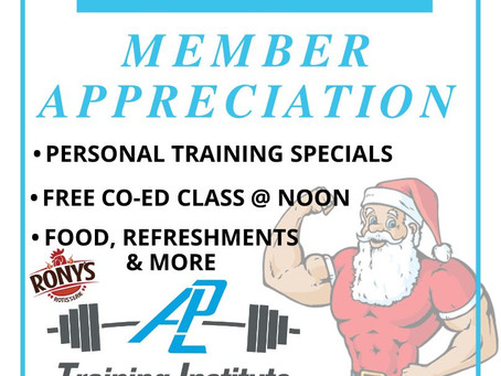 Boxing Day Member Appreciation Day